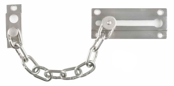 Image Door Guard Chain