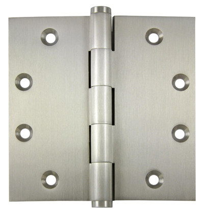 Image 5 Knuckle Plain Bearing Hinge 4.5 x 4.5